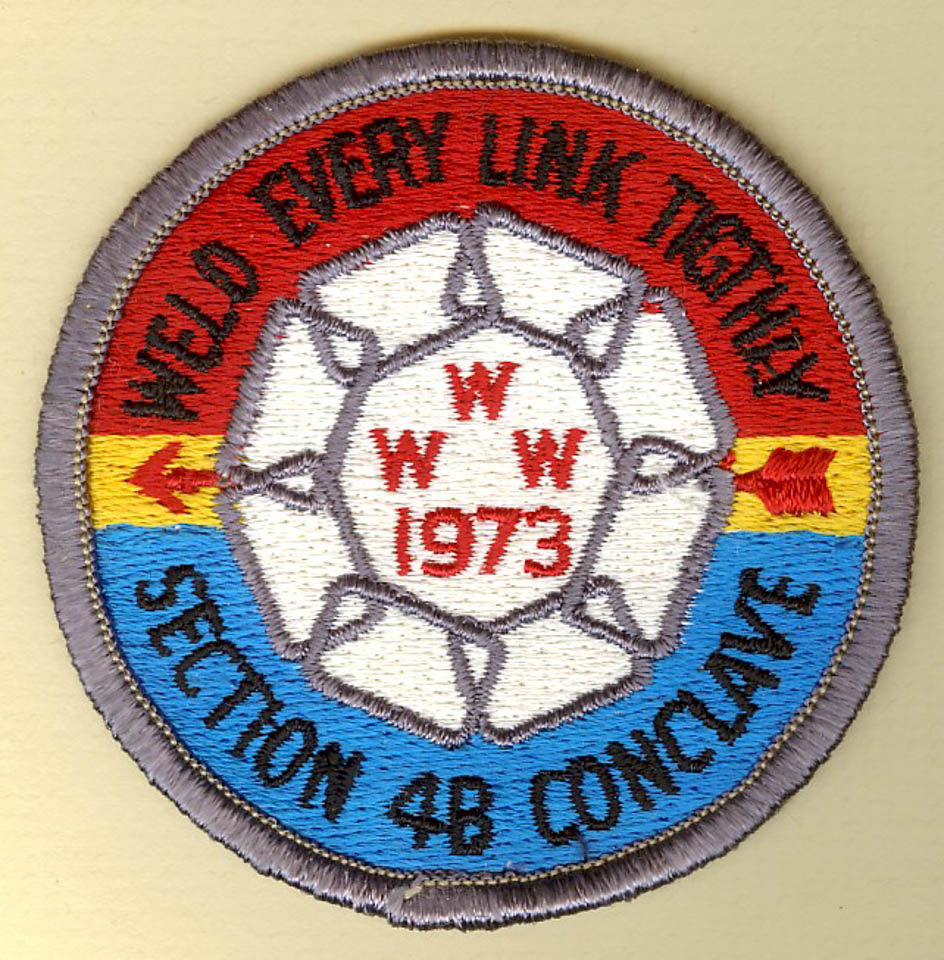 1973 W4B Conclave Patch