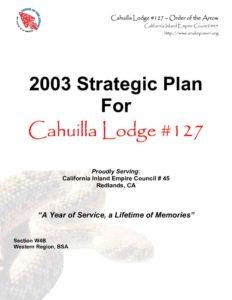 thumbnail of 2003 Strategic Plan