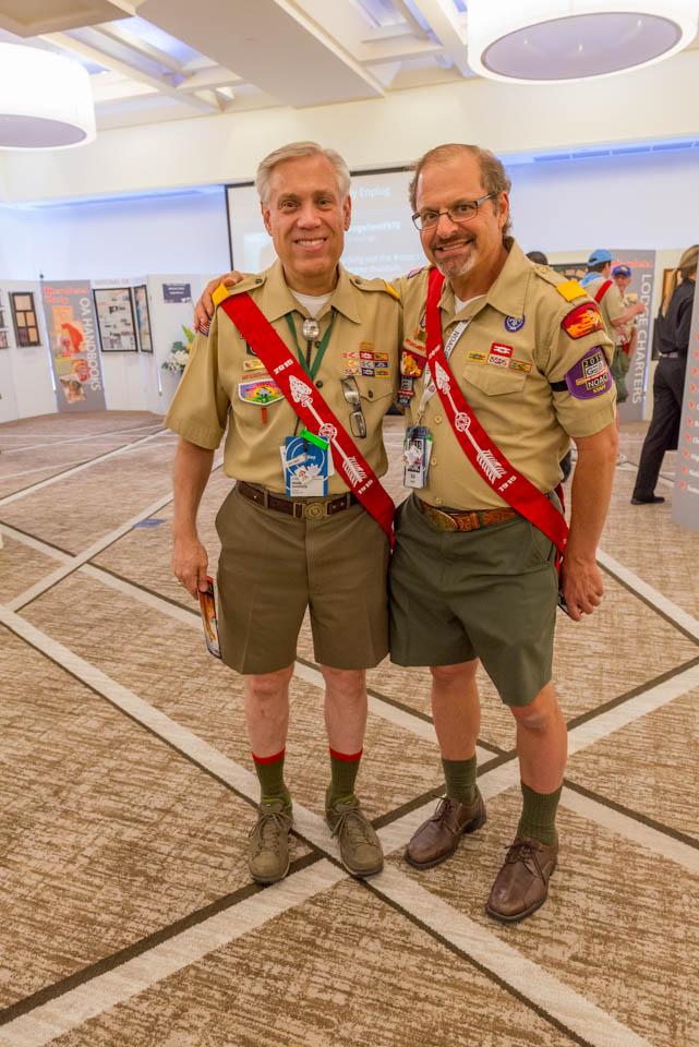 Brad Haddock and Bill Topkis