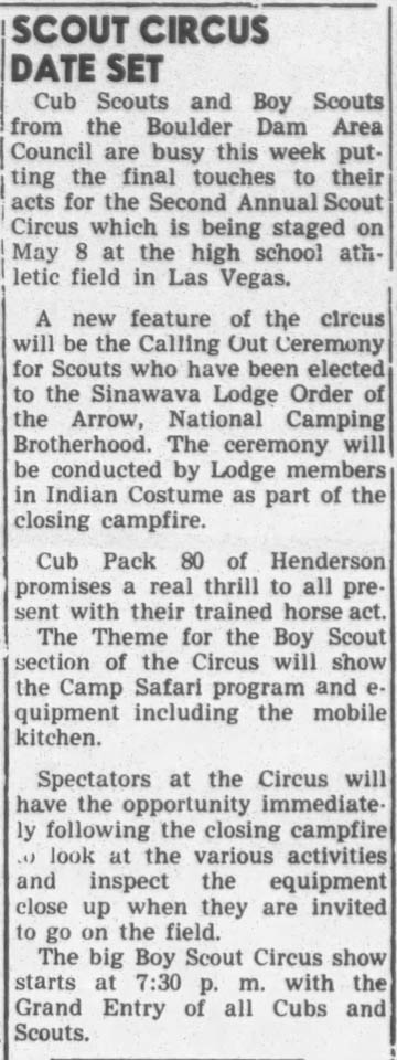 1948 - 0506 - Sinawava Lodge Calling Out Ceremony
