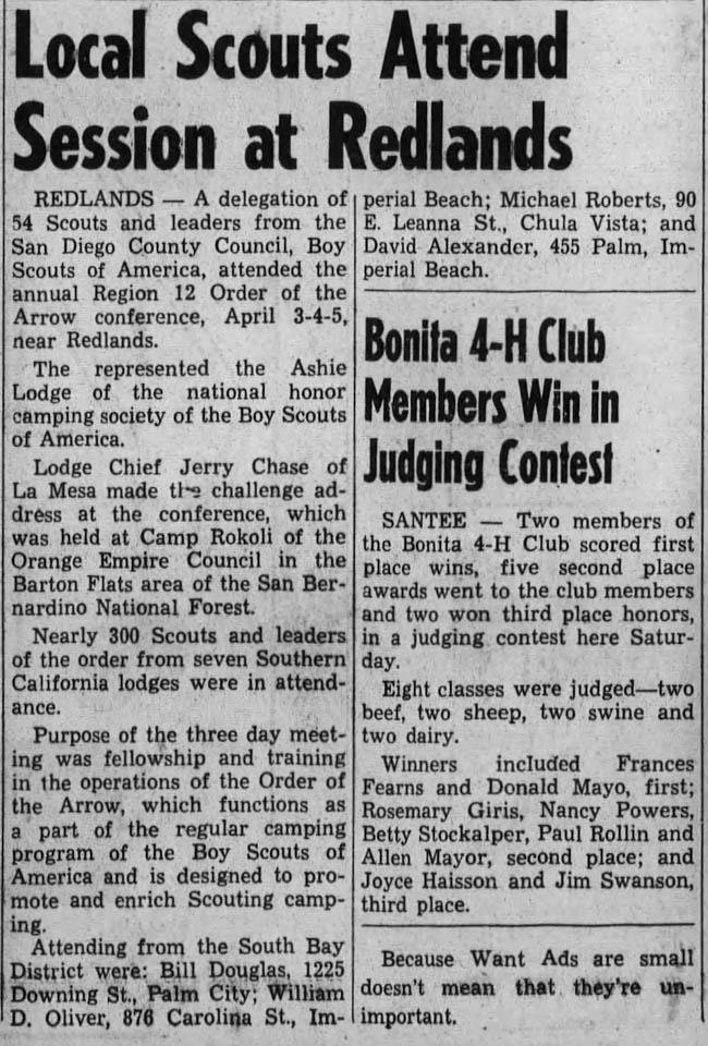 1959 - 0409 - Chula Vista Star News Ashie Lodge