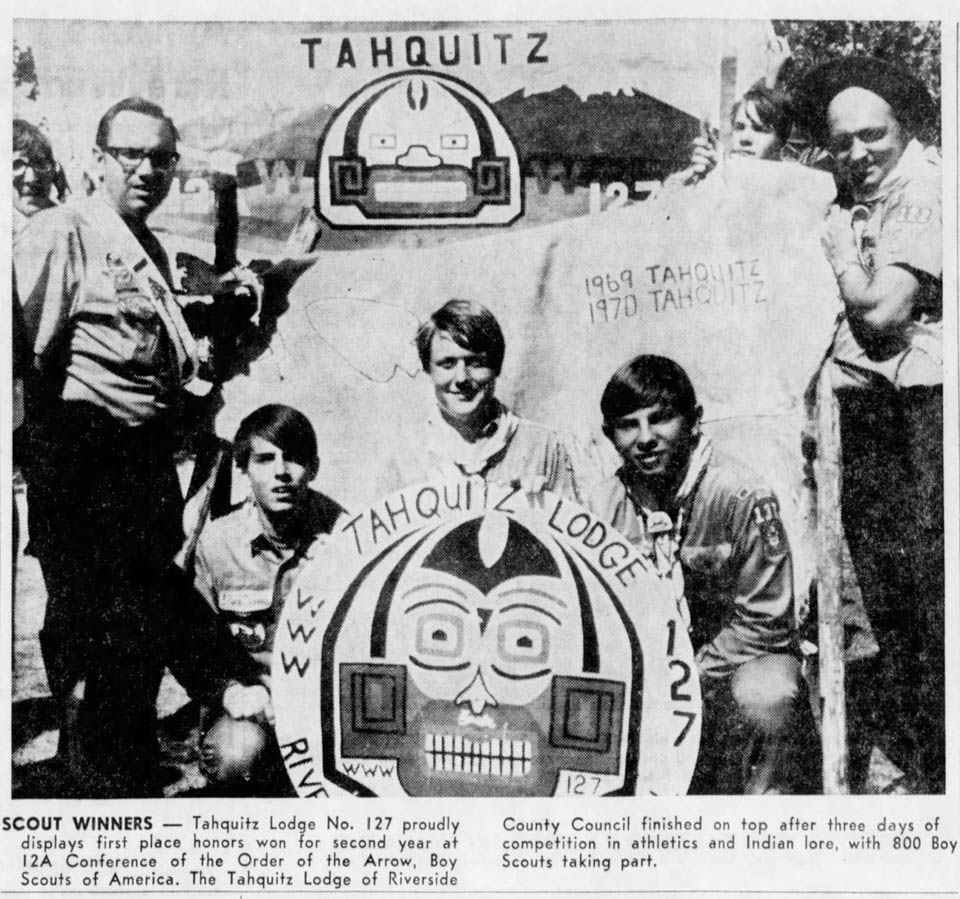 1970 - Tahquitz Lodge 12-A Conference