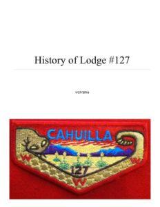 thumbnail of 2015 Cahuilla Lodge History Book