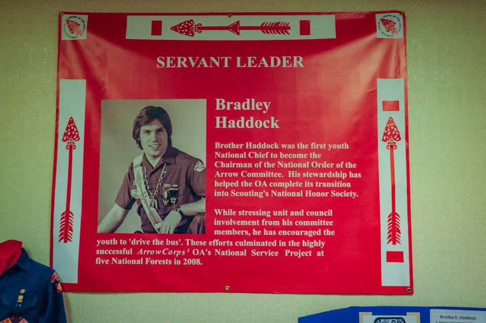 Brad Haddock, Servant Leader