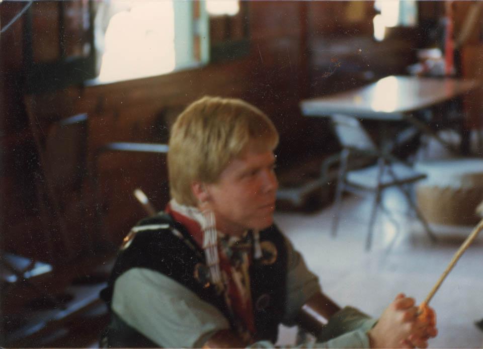 Jeff Fretz - Siwinis Lodge at a Conclave Pow Wow