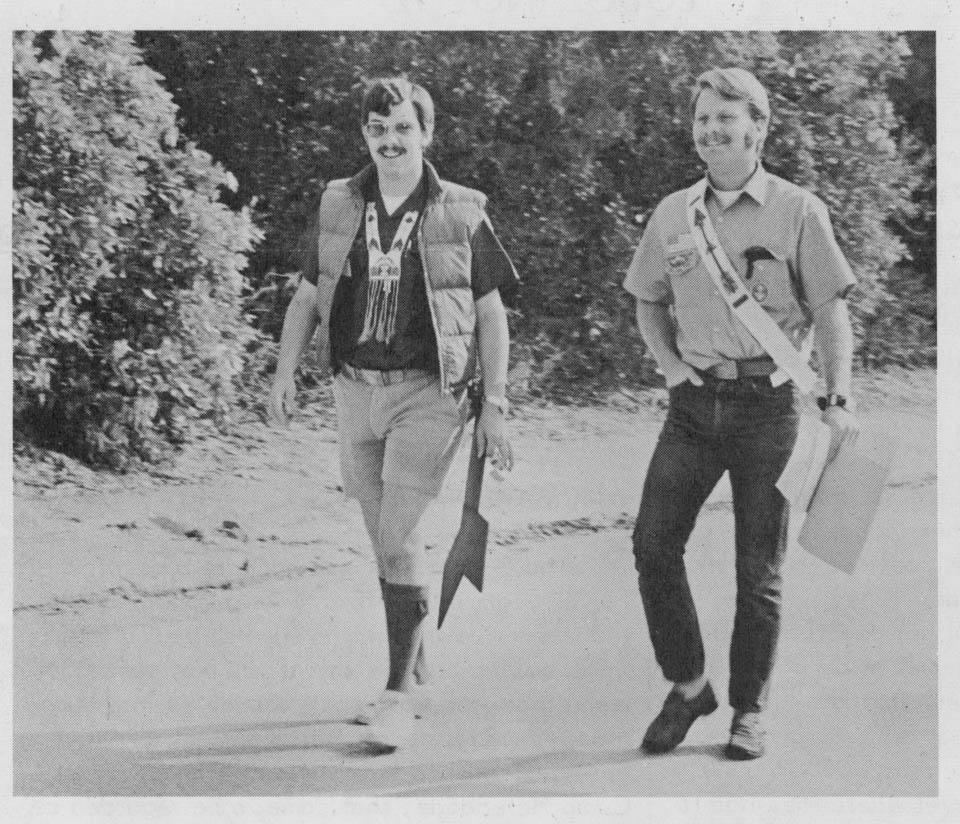 1973 - Co-Lodge Chiefs Jon Nelson and Ken DeWitt