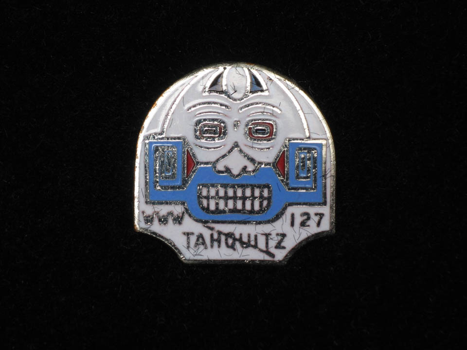 Tahquitz Lodge Silver Totem Pin