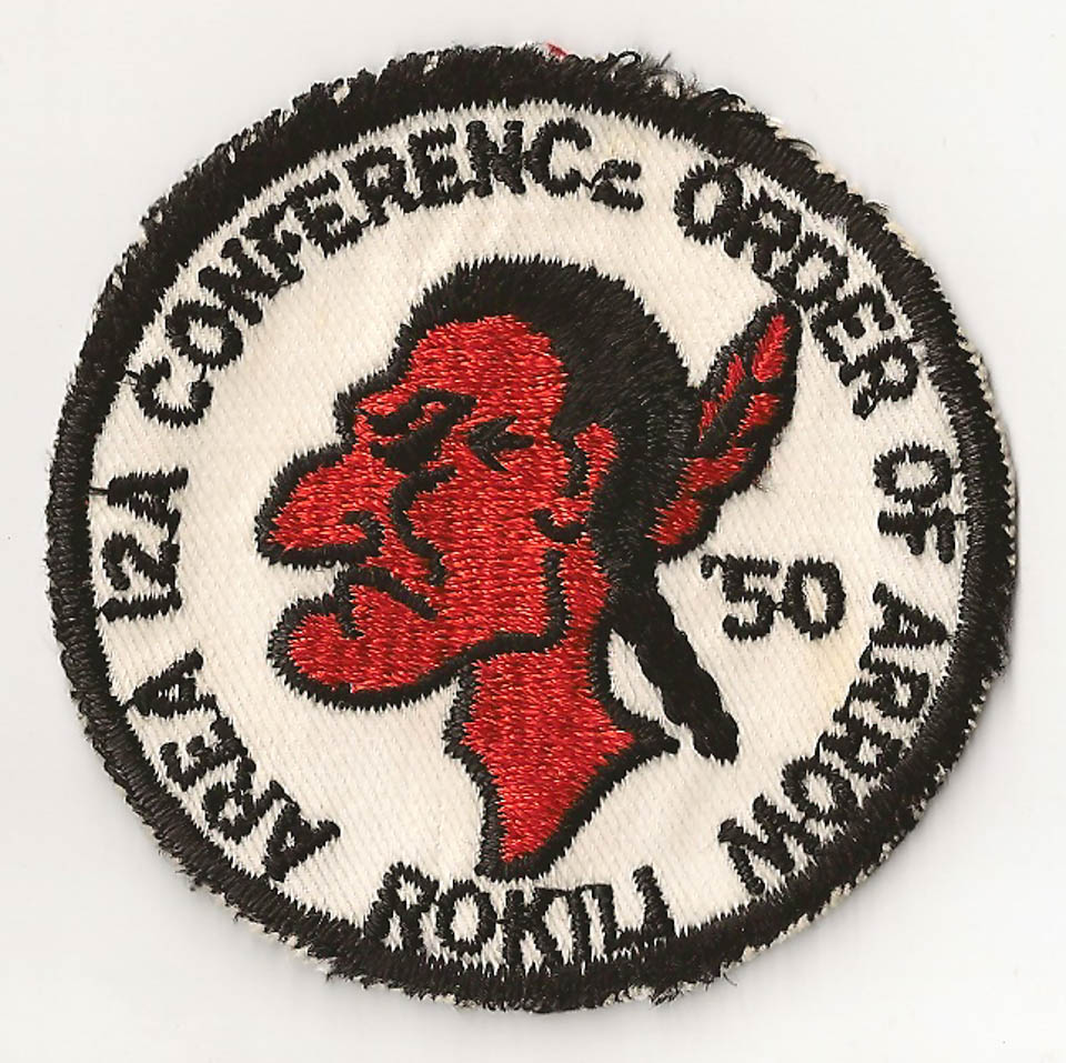 1951 Area 12-A Conference Patch
