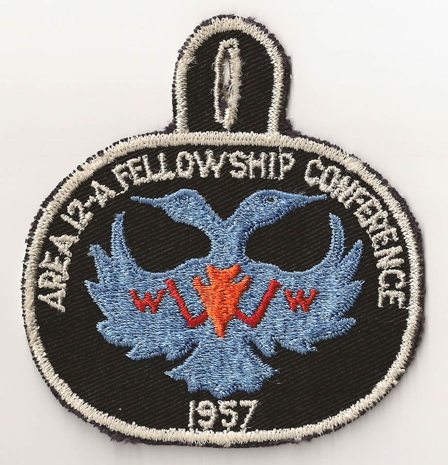 1957 Area 12-A Conference Patch