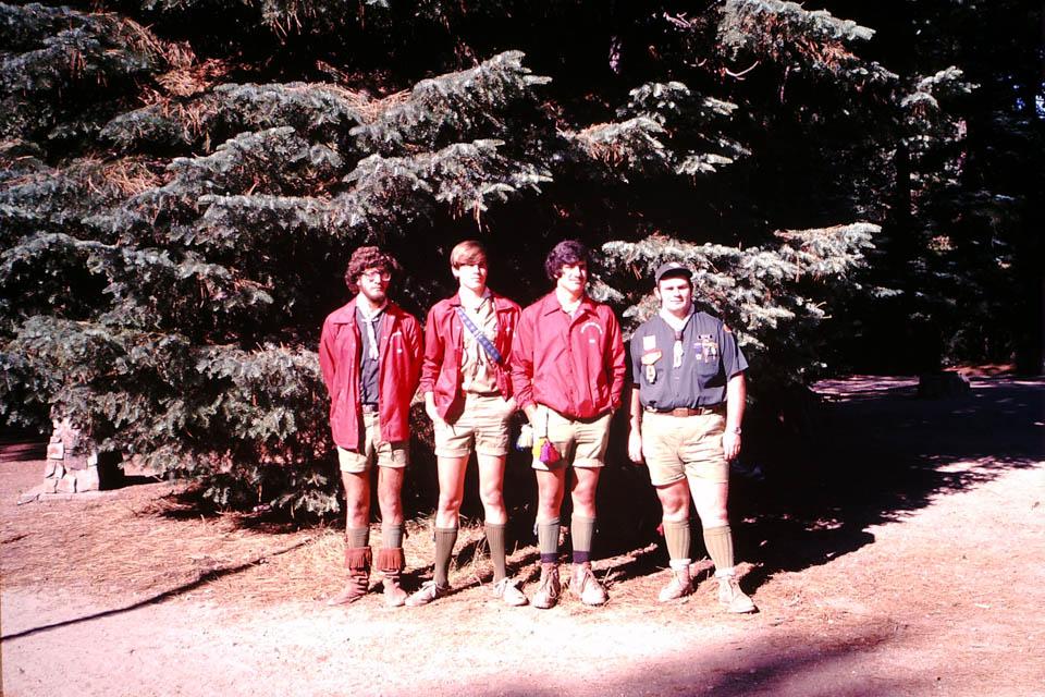 1980 - 4 Cahuilla Lodge Chiefs